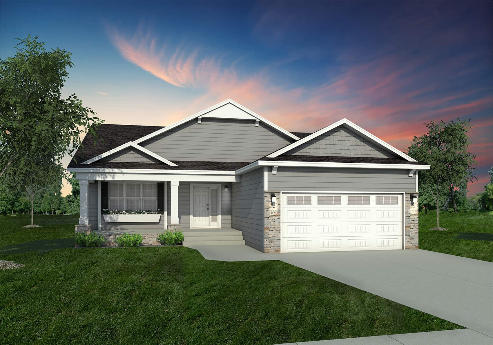 1322 Colonial Elevation