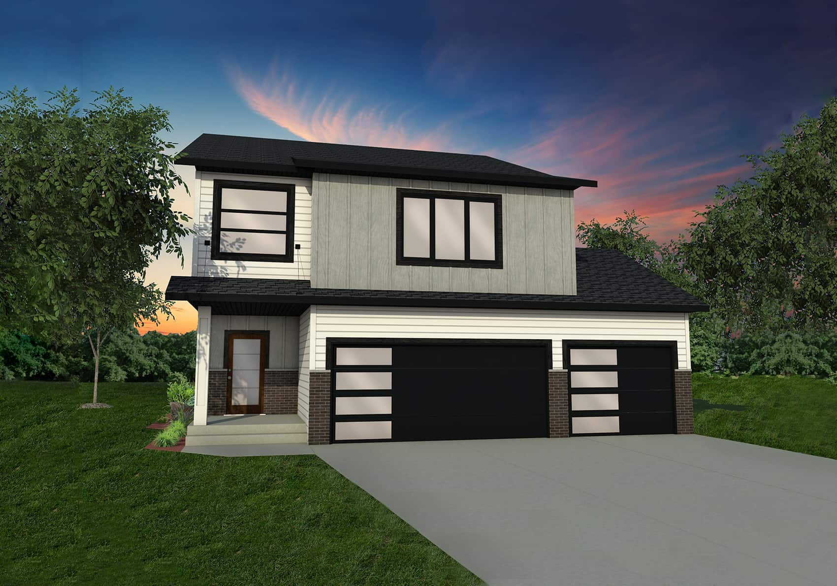 Introducing our new exterior home plan options thomsen homes for New home options