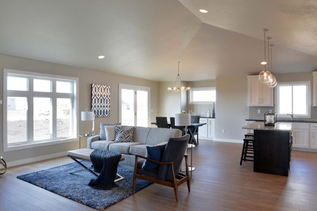 3 Tips For Decorating A House With An Open Floor Plan Thomsen Homes