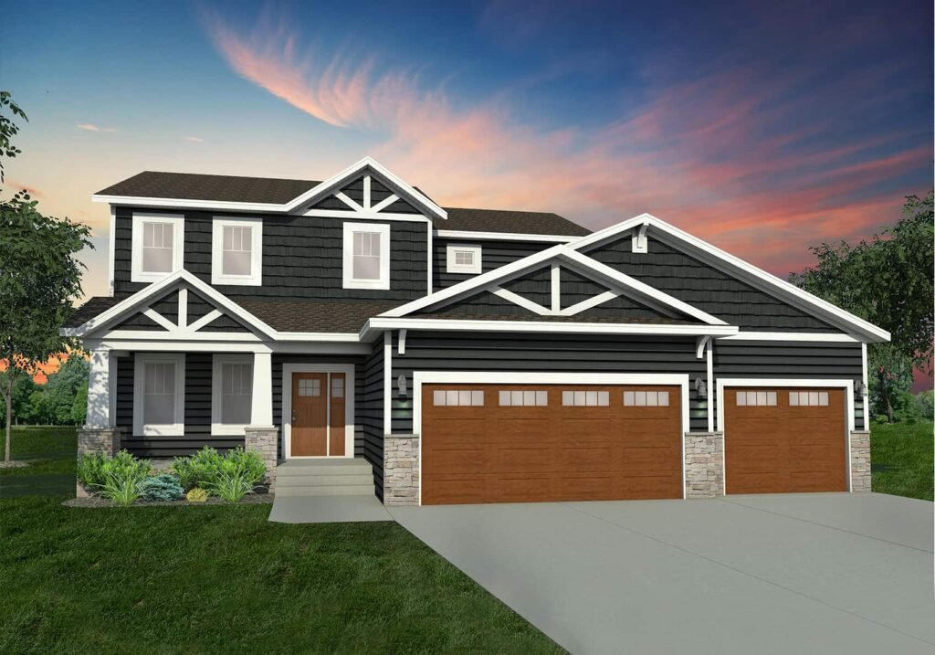 Introducing Our New Exterior Home Plan Options Thomsen Homes
