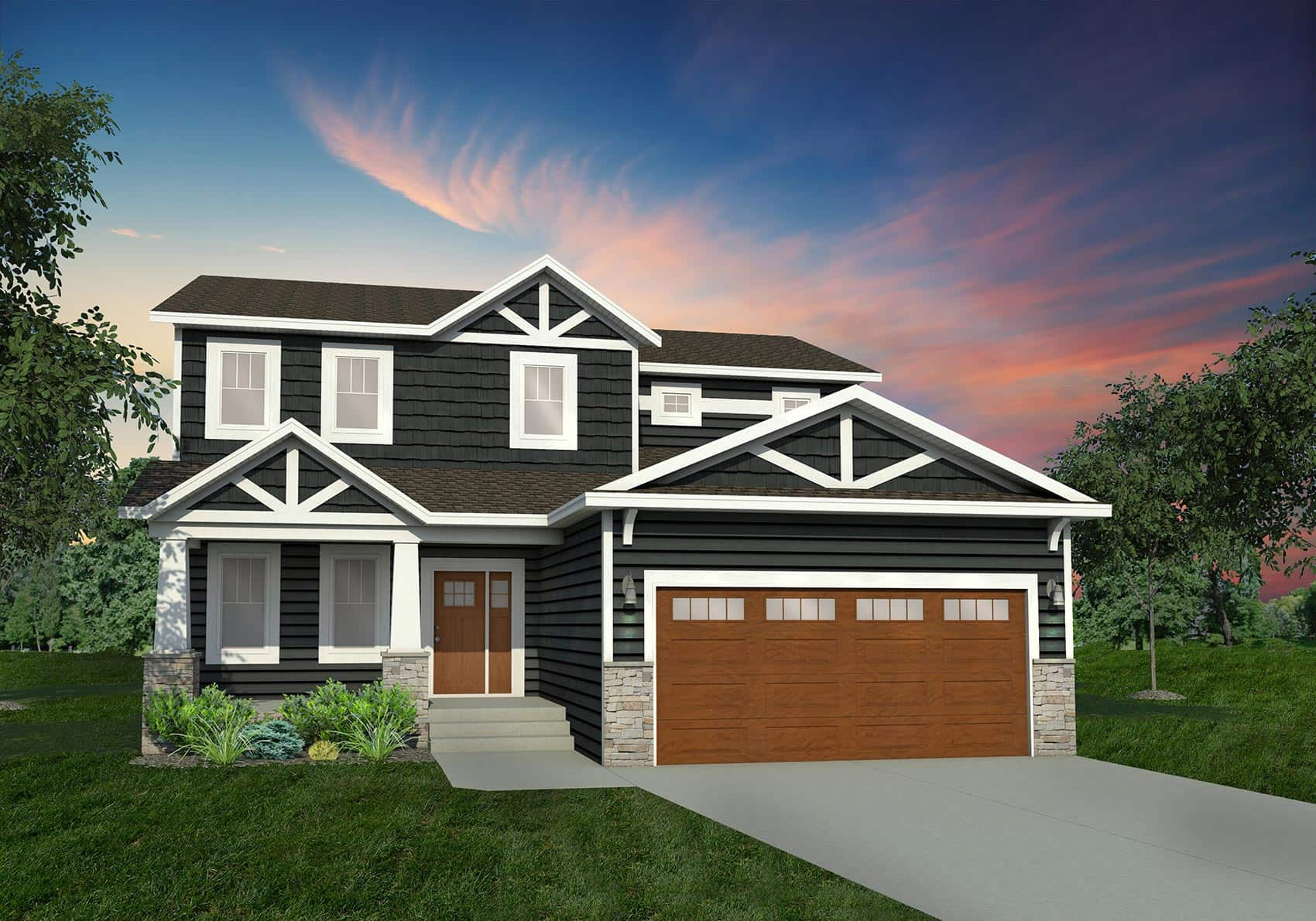 2090 Craftsman Elevation