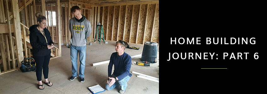 home building journey