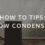 How to deal with window condensation in cold weather