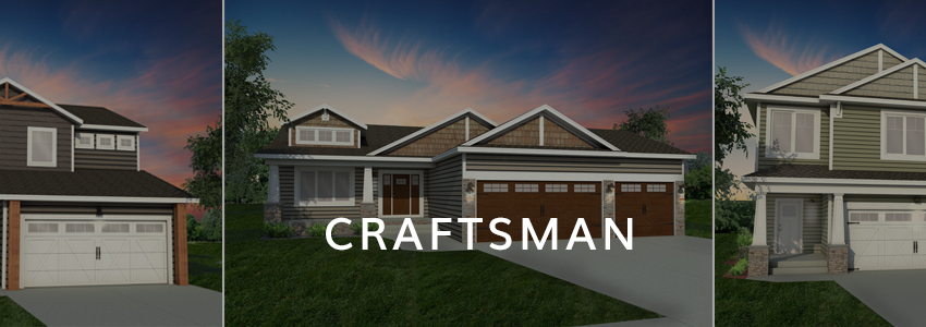 Craftsman Exterior Home Plan