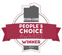 Design And Living People's Choice Award 2016 Badge
