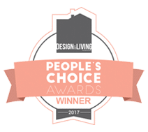 Design And Living People's Choice Award 2017 Badge