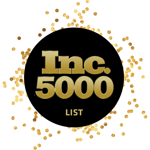 2018< /> Inc. 5000 One of America's Fastest Growing Companies