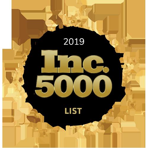 Inc 5000 List 2019 Badge